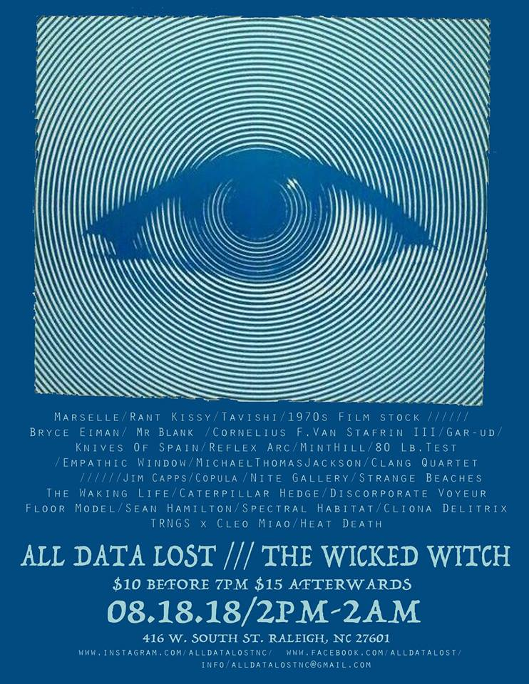 ALL DATA LOST: A FESTIVAL - Wicked Witch Raleigh